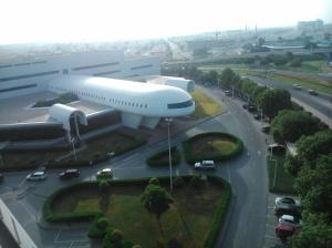 szkoła w samolocie
